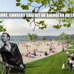 Calogero donnera un concert gratuit au Lac de Madine le 5 septembre 2015