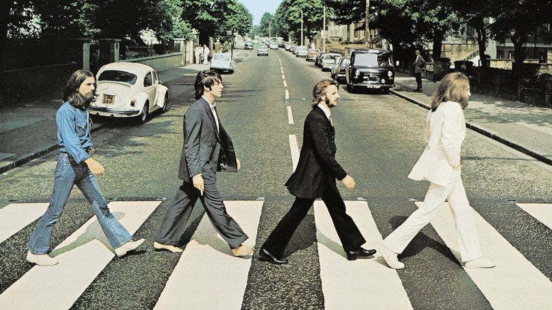 "Couv. vinyle The Beatles ""Abbey Road"" CREDIT : Apple Corps/EMI"