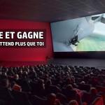 JEU FLASH : Partage et Gagne ta place de cinéma Kinépolis aujourd'hui