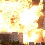 Une explosion équivalent à 21 tonnes d'explosif a eu lieu en chine