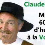 CLAUDE VANONY : 60 ans à faire rire les Lorrains