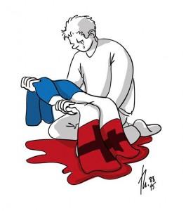 dessin-hommage-attentat-13-novembre-2015