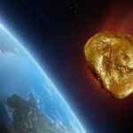 Un astéroïde contenant 600 kg d'or va percuter la terre en avril 2016.