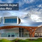 La bonne nouvelle du jour est pour le centre pompidou de Metz