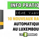 Dix nouveaux radars fixes dès aujourd'hui au Luxembourg