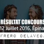 Résultat Concours Concert Frero DELAVEGA