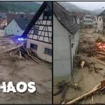 DES ORAGES DÉVASTATEURS ET DES VICTIMES EN ALLEMAGNE PRÈS DE NOS FRONTIÈRES