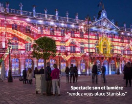 Les photos du spectacle son & lumière 2016, place Stanislas à Nancy
