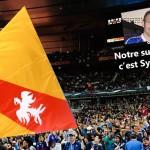 EURO : Le drapeau de la Lorraine rayonne sur les télés du monde entier grâce à lui