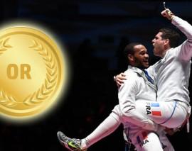 JO 2016 : Un gendarme Lorrain décroche la médaille d'or en épée par équipes