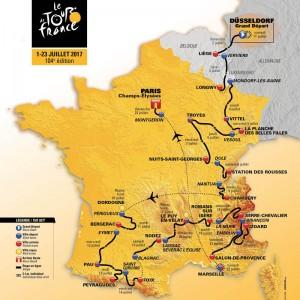 carte-officielle-tour-de-france-2017