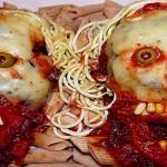 Zombies d'aubergines et pâtes