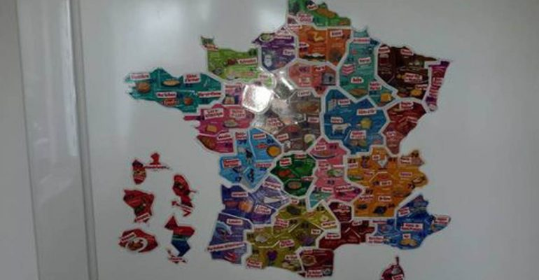 carte de france magnet