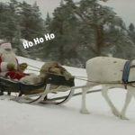 VIDEO – Le Père Noël vient de quitter la Finlande pour commencer sa tournée