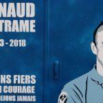 Un artiste de rue rend hommage à sa façon au gendarme Arnaud Beltrame