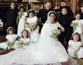 Trois magnifiques photos officielles du Mariage princier viennent d'être publiées