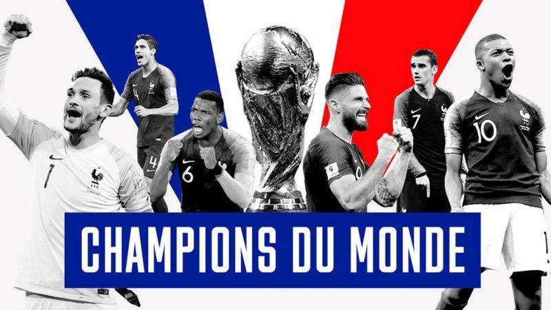 Ils l'ont fait ! Champions du monde !!