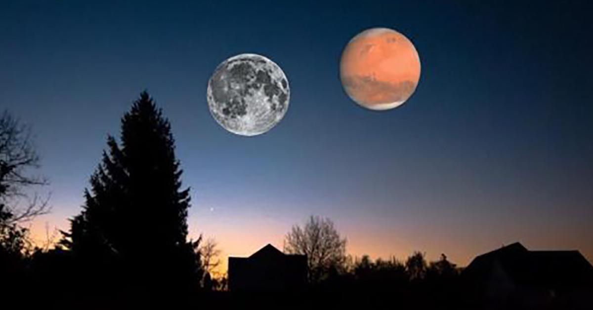 le 27 juillet 2018 oui l 39 clipse lunaire non la plan te mars aussi grosse que la lune le. Black Bedroom Furniture Sets. Home Design Ideas