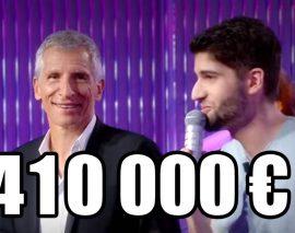 «N'oubliez pas les paroles»:  il gagne  410.000 euros et va faire un dîner avec les sans-abri