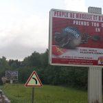 Une campagne pour fusionner l'Alsace et la Moselle affichée à Metz