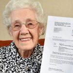A 99 ans, elle reçoit une lettre de l'hôpital confirmant qu'elle est enceinte