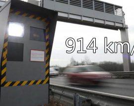 Un Luxembourgeois se fait flasher à 914 km/h !