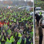 Gilets jaunes, la contagion : La Belgique, la Bulgarie et l'Allemagne s'y mettent !