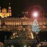Nancy : L'illumination du sapin de Noël 2018 place Stanislas