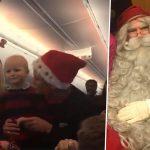 Le Père Noël accueille huit enfants atteints d'un cancer, chez lui, en Laponie