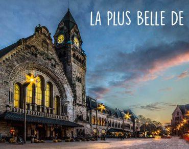 La gare de Metz, élue plus belle gare de France pour la 2ème fois