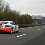 Luxembourg : en panne, La police provoque un embouteillage