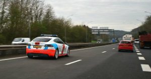 voiture-police-luxembourg-tesla-panne-autoroute