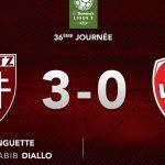 [Vidéo] Le champion de France de Ligue 2 est grenat