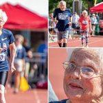 À 103 ans, elle court un cent mètres en 46 secondes !