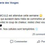 La blague matinale de la Gendarmerie des Vosges