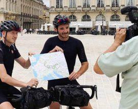 2 Nancéiens vont réaliser le plus grand GPS drawing du monde à vélo