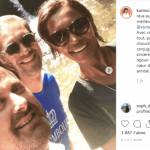 Karine Le Marchand a passé le week-end au Luxembourg avec Xavier Bettel comme guide