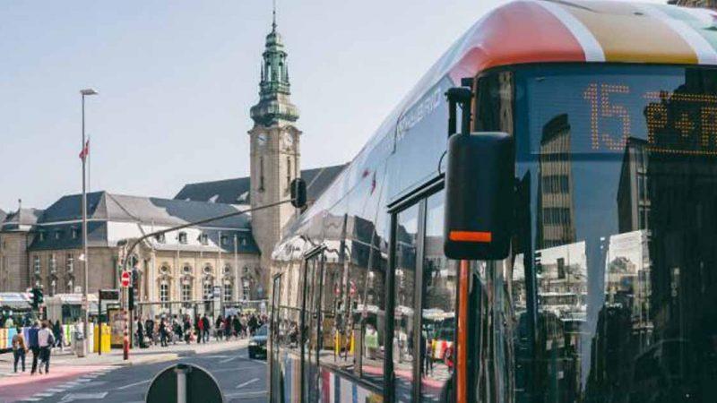 Les transports publics gratuits pour tous en septembre au Luxembourg
