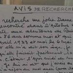 """À 86 ans, il placarde une lettre sur les abribus pour retrouver son """"grand amour"""""""