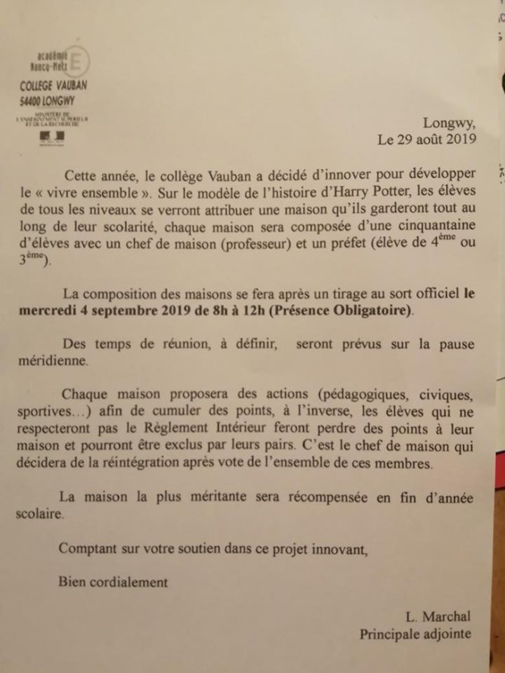 ecole-vauban-longwy-harry-potter-poudlard-courrier
