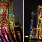 La vidéo du mapping des 800 ans de la Cathédrale de Metz en avant première
