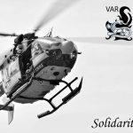 L'hommage des pompiers du Var  aux cinq morts dont trois secouristes suites aux intempéries
