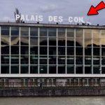 Les rafales de vent transforment le palais des congrès de Liège en «palais des con»