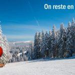 La station de Gérardmer reste en tarif vert (tarif réduit) jusqu'au 6 mars 2020