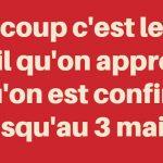 Confinement en France : Prolongation jusqu'au 15 avril avant une nouvelle ?