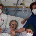 Une dame de 95 ans vient d'être guérie du covid19 en Italie