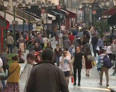 Covid-19 : Des rues blindées de monde ce dimanche à Paris
