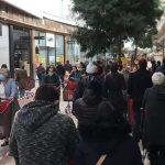 Confinement : Les galeries d'Auchan Longwy blindées de monde samedi