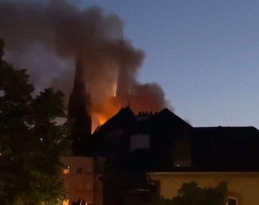 [Vidéo] Le centre-ville de Metz touché par deux incendies impressionnants