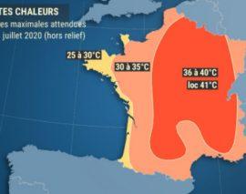 La barre des 40° prévue ce vendredi en Lorraine